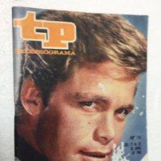 Coleccionismo de Revista Teleprograma: TP 115 AÑO 1968 ORIGINAL ANTIGUO. R80. Lote 184461057