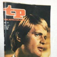 Coleccionismo de Revista Teleprograma: TP 117 AÑO 1968 ORIGINAL ANTIGUO. R80. Lote 184461108