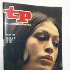 Coleccionismo de Revista Teleprograma: MASSIEL TP 155 AÑO 1969 ORIGINAL ANTIGUO. R80. Lote 184461142