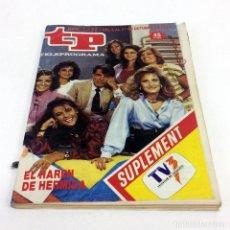 Coleccionismo de Revista Teleprograma: TELEPROGRAMA TP 1122 - OCTUBRE 1987 - PORTADA JESÚS HERMIDA. Lote 186257061