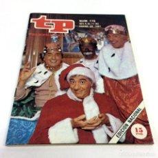 Coleccionismo de Revista Teleprograma: TELEPROGRAMA TP 770 - ENERO 1981 - PORTADA GABI MILIKI FOFO FOFITO. Lote 186257318