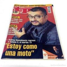 Coleccionismo de Revista Teleprograma: TELEPROGRAMA TP 2058 - SEPTIEMBRE 2005 - PORTADA BUENAFUENTE. Lote 186258655