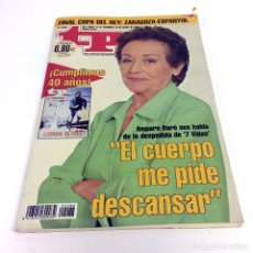 Coleccionismo de Revista Teleprograma: TELEPROGRAMA TP 2088 - ABRIL 2006 - PORTADA AMPARO BARÓ. Lote 186258792