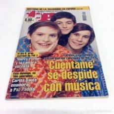 Coleccionismo de Revista Teleprograma: TELEPROGRAMA TP 2075 - ENERO 2006 - PORTADA CUÉNTAME. Lote 186259591