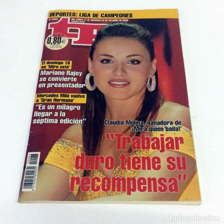 TELEPROGRAMA TP 2063 - OCTUBRE 2005 (Coleccionismo - Revistas y Periódicos Modernos (a partir de 1.940) - Revista TP ( Teleprograma ))