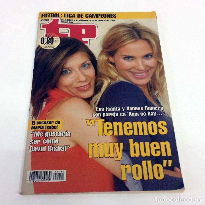 TELEPROGRAMA TP 2068 - NOVIEMBRE 2005 (Coleccionismo - Revistas y Periódicos Modernos (a partir de 1.940) - Revista TP ( Teleprograma ))