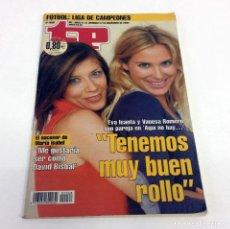 Coleccionismo de Revista Teleprograma: TELEPROGRAMA TP 2068 - NOVIEMBRE 2005. Lote 186259818