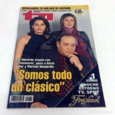 Coleccionismo de Revista Teleprograma: TELEPROGRAMA TP 2069 - DICIEMBRE 2005 - PORTADA TITO VALVERDE COMISARIO. Lote 186259903