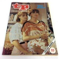 Coleccionismo de Revista Teleprograma: TELEPROGRAMA TP 1040 - MARZO 1986. Lote 186260872
