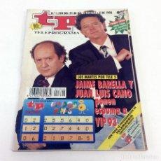 Coleccionismo de Revista Teleprograma: TELEPROGRAMA TP 1390 - NOVIEMBRE 1992. Lote 186261120