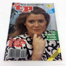 Coleccionismo de Revista Teleprograma: TELEPROGRAMA TP 1262 - JUNIO 1990 - PORTADA DRA. OCHOA. Lote 186261217