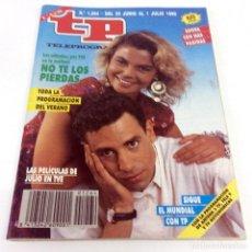 Coleccionismo de Revista Teleprograma: TELEPROGRAMA TP 1264 - JUNIO 1990 - PORTADA LETICIA SABATER. Lote 186261317