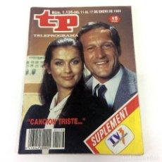 Coleccionismo de Revista Teleprograma: TELEPROGRAMA TP 1136 - ENERO 1988 - PORTADA CANCIÓN TRISTE. Lote 186261428