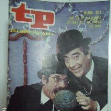 Coleccionismo de Revista Teleprograma: LOTE 50 REVISTAS TP AÑOS 80. Lote 187604123