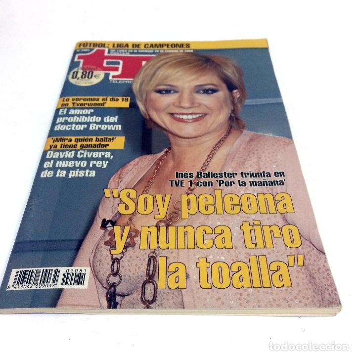 TELEPROGRAMA TP 2081 - FEBRERO 2006 - PORTADA INES BALLESTER (Coleccionismo - Revistas y Periódicos Modernos (a partir de 1.940) - Revista TP ( Teleprograma ))