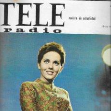 Coleccionismo de Revista Teleprograma: REVISTA TELE RADIO Nº 408, 18 - 24 OCTUBRE 1965 ,ISABEL CLARA FRANCIA , RAFFAELLA CARA. Lote 192988657