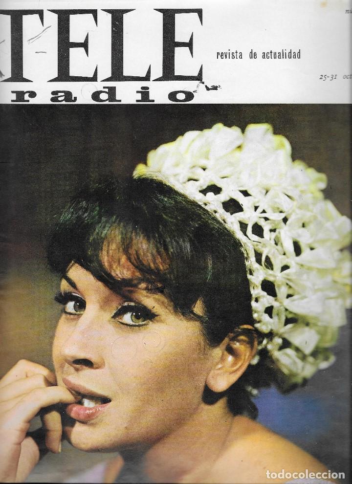 REVISTA TELE RADIO Nº 409, 25 - 31 OCTUBRE 1965 , MARTA PADOVAN, MANUEL BENITEZ EL CORDOBES (Coleccionismo - Revistas y Periódicos Modernos (a partir de 1.940) - Revista TP ( Teleprograma ))