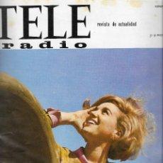 Coleccionismo de Revista Teleprograma: REVISTA TELE RADIO Nº 384 , 3 - 9 MAYO 1965, CARMINA ALONSO, FOTOS ORIGINALES. Lote 193016610