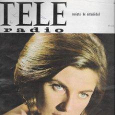 Collezionismo di Rivista Teleprograma: REVISTA TELE RADIO Nº 441, 6-12 JUNIO 1966, MADALENA IGLESIAS, FOTOS ORIGINALES,. Lote 193183302