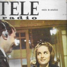 Coleccionismo de Revista Teleprograma: REVISTA TELE RADIO Nº 448, 25-31 JULIO 1966,IRAN EORY. Lote 193238752