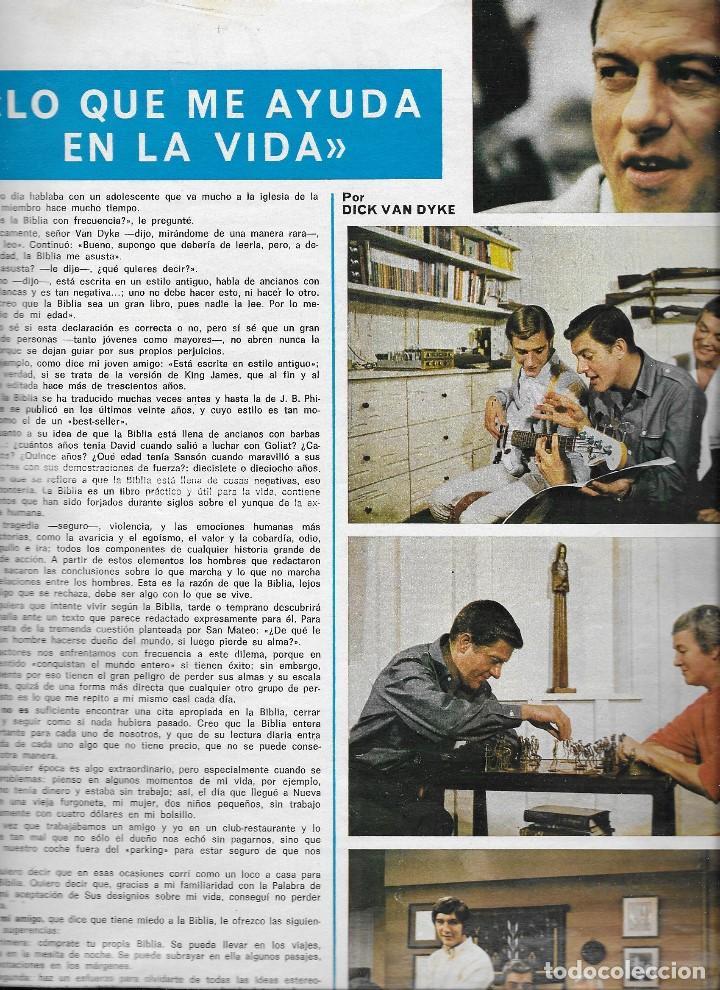 Coleccionismo de Revista Teleprograma: REVISTA TELE RADIO Nº 776, 6-12 NOVIEMBRE 1972, DICK VAN DYKE - Foto 2 - 193318325