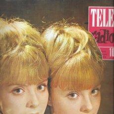 Coleccionismo de Revista Teleprograma: REVISTA TELE RADIO Nº 320, 10-16 FEBRERO 1964, PILI Y MILI, FESTIVAL SAN REMO, MATIAS PRATS. Lote 193358577