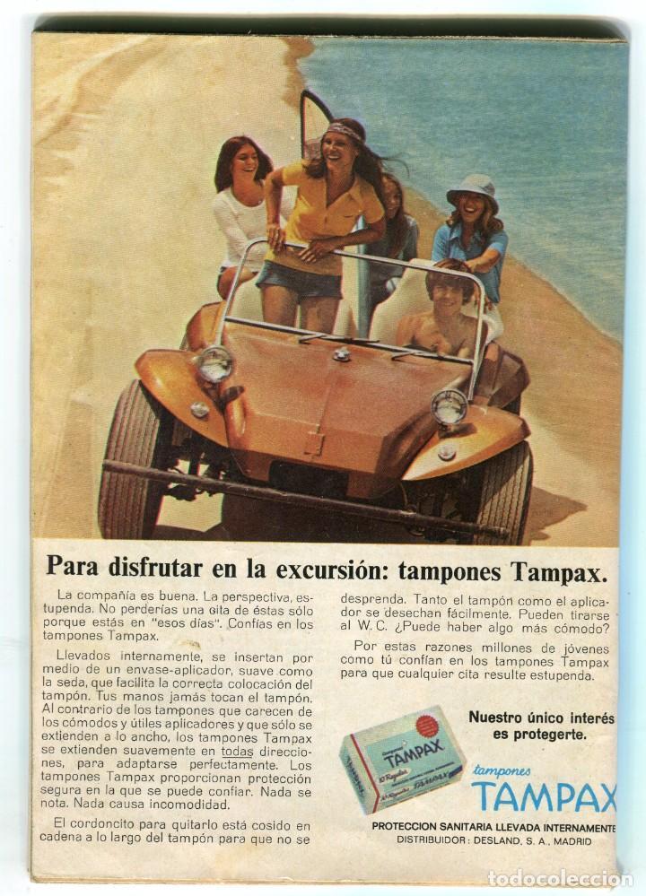 Coleccionismo de Revista Teleprograma: ROGER MOORE CON QUINCE AÑOS MENOS -IVANHOE- + FOTONOVELA REVISTA TP 439 SEPT. DE 1974 DE COLECCION - Foto 2 - 193371243