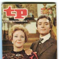 Coleccionismo de Revista Teleprograma: LUISA SALA Y VICTOR VALVERDE - EL SECRETO - + FOTONOVELA REVISTA TP 444 OCTUBRE DE 1974 DE COLECCION. Lote 193371407