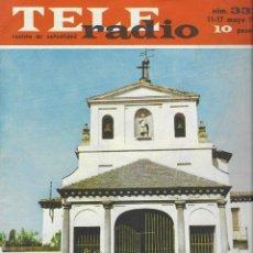 Coleccionismo de Revista Teleprograma: REVISTA TELE RADIO Nº 333, 11-17 MAYO 1964, EN PAGINAS INTERIORES SARA MONTIEL. Lote 193550533