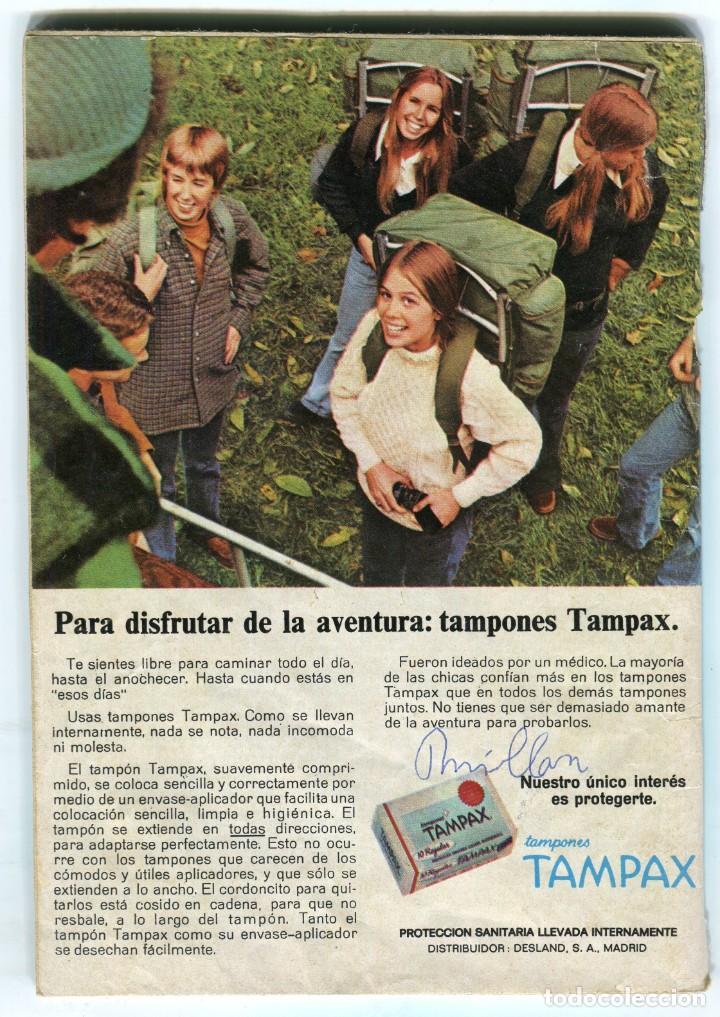Coleccionismo de Revista Teleprograma: FLORINDA CHICO 6 PAGINAS 7 FOTOS - LOS MANIATICOS + FOTO NOVELA REVISTA TP 437 AGOSTO DE 1974 - Foto 2 - 193552888