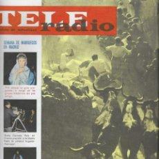 Coleccionismo de Revista Teleprograma: REVISTA TELE RADIO Nº 341, 6-12 JULIO 1964, SAN FERMIN.. Lote 193553707