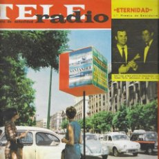 Coleccionismo de Revista Teleprograma: REVISTA TELE RADIO Nº 345, 3-9 AGOSTO 1964. GLORIA LASO EN PAGINAS INTERIORES. Lote 193556241
