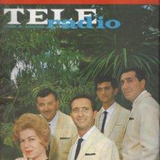 Coleccionismo de Revista Teleprograma: REVISTA TELE RADIO Nº 351 , 14-20 SEPTIEMBRE 1964., LOS 5 LATINOS. Lote 193617327