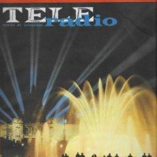 Coleccionismo de Revista Teleprograma: REVISTA TELE RADIO Nº 352 ,21-27 SEPTIEMBRE 1964, BARCELONA FUENTE DE COLOR, JACQUES ANQUETIL. Lote 193618193