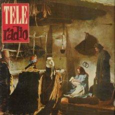 Coleccionismo de Revista Teleprograma: REVISTA TELE RADIO Nº 209 , 25-31 DICIEMBRE 1961, NAVIDAD. Lote 193669758