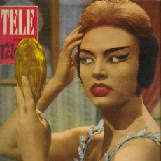 Coleccionismo de Revista Teleprograma: REVISTA TELE RADIO Nº 205, 27 NOVIEMBRE - 3 DICIEMBRE 1961,DIANA LORYS, MATI MISTRAL. Lote 193671051