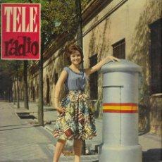 Coleccionismo de Revista Teleprograma: REVISTA TELE RADIO Nº 204, 20-26 NOVIEMBRE 1961, EMMA PEREZ. Lote 193671330