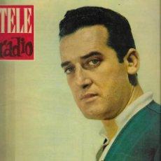 Coleccionismo de Revista Teleprograma: REVISTA TELE RADIO Nº 202, 6-12 NOVIEMBRE 1961,ALECO PANDAS, CONCHITA VELASCO, ISMAEL MERLO. Lote 193672915