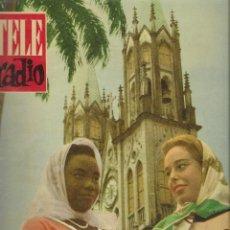 Coleccionismo de Revista Teleprograma: REVISTA TELE RADIO Nº 201, 30 OCTUBRE - 5 NOVIEMBRE 1961. Lote 193673147