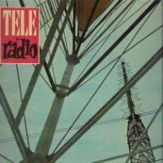 Coleccionismo de Revista Teleprograma: REVISTA TELE RADIO Nº 199, 16-22 OCTUBRE 1961, PEPE BODALO EN PAGINAS INTERIORES. Lote 193674086