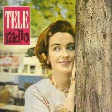 Coleccionismo de Revista Teleprograma: REVISTA TELE RADIO Nº 188, 24-30 JULIO 1961,MARIA DEL PUY ALONSO, CARMEN AMAYA EN PAGINAS INTERIORES. Lote 193777300