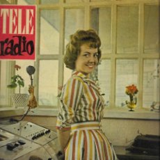 Coleccionismo de Revista Teleprograma: REVISTA TELE RADIO Nº 190, 14-20 AGOSTO 1961,MARI-QUETA CAPDEVILA, PIPO RIVAS EN PAGINAS INTERIORES. Lote 193777900