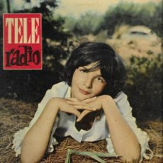 Coleccionismo de Revista Teleprograma: REVISTA TELE RADIO Nº 191, 21-27 AGOSTO 1961, AGNES SPAAK. Lote 193778498