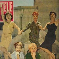 Coleccionismo de Revista Teleprograma: REVISTA TELE RADIO Nº 193, 4-10 SEPTIEMBRE 1961. Lote 193778951