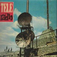 Coleccionismo de Revista Teleprograma: REVISTA TELE RADIO Nº 195, 18-24 SEPTIEMBRE 1961, ISABEL GARCISANZ EN PAGINAS INTERIORES. Lote 193780517