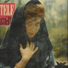 Coleccionismo de Revista Teleprograma: REVISTA TELE RADIO Nº 197, 2-8 OCTUBRE 1961, CONCHITA BAUTISTA, ANALIA GADE EN PAGINAS INTERIORES. Lote 193781180