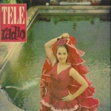 Coleccionismo de Revista Teleprograma: REVISTA TELE RADIO Nº 198,9-15 OCTUBRE 1961, LIDIA TOREA, SARA MONTIEL EN PAGINAS INTERIORES. Lote 193781676