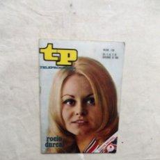 Coleccionismo de Revista Teleprograma: REVISTA TP TELEPROGRAMA Nº 136 DEL 11 AL 17 DE NOVIEMBRE DE 1968 ROCIO DURCAL . Lote 193836862