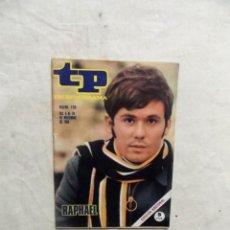 Coleccionismo de Revista Teleprograma: REVISTA TP TELEPROGRAMA Nº 135 DEL 4 AL 10 DE NOVIEMBRE DE 1968 RAPHAEL . Lote 193837025