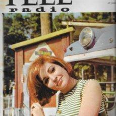 Coleccionismo de Revista Teleprograma: REVISTA TELE RADIO Nº 392, 28 JUNIO - 4 JULIO 1965 , ROSALIA, SILVIA PINAL. Lote 193888638